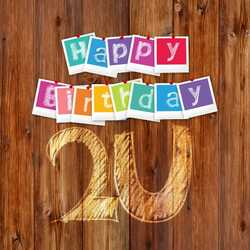 greeting e-card Happy Birthday 2U