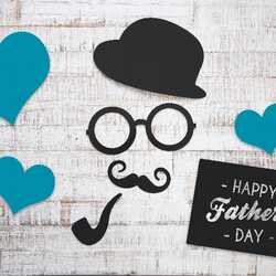 greeting e-card Happy father day greeting card