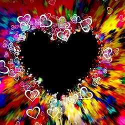 greeting e-card Heart illustration