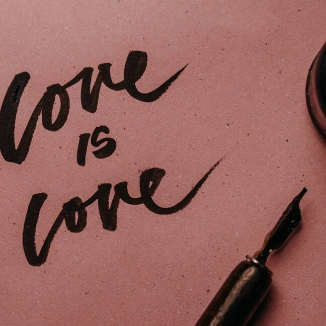 Love is love e-kartiņa