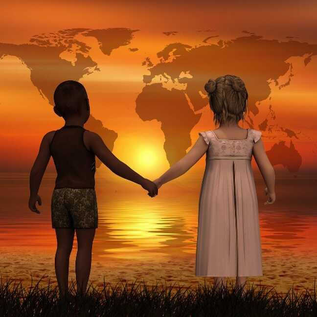 Pasaules bērnu diena e-kartiņa