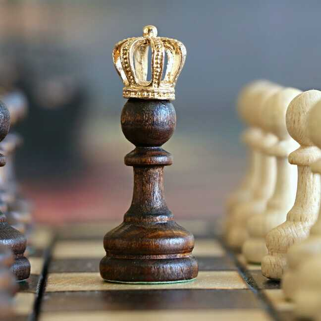 Šaha figūra - karalis e-kartiņa